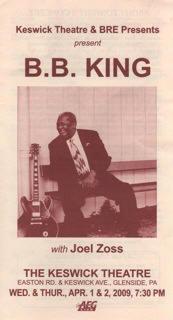 B.B. KING & Joel Zoss Poster